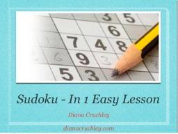 Introduction to Sudoku – Brain Stuff for the Novice